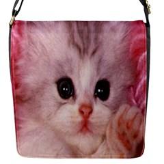 Cat  Animal  Kitten  Pet Flap Messenger Bag (s)