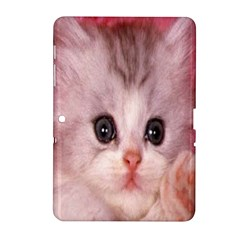 Cat  Animal  Kitten  Pet Samsung Galaxy Tab 2 (10 1 ) P5100 Hardshell Case