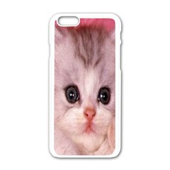 Cat  Animal  Kitten  Pet Apple Iphone 6/6s White Enamel Case