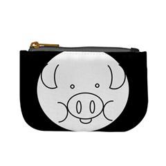 Pig Logo Mini Coin Purses