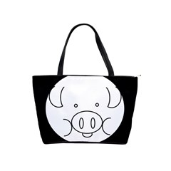 Pig Logo Shoulder Handbags