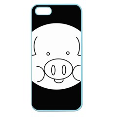 Pig Logo Apple Seamless Iphone 5 Case (color)