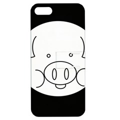 Pig Logo Apple Iphone 5 Hardshell Case With Stand