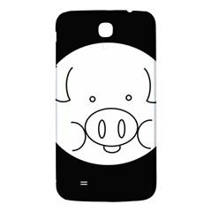 Pig Logo Samsung Galaxy Mega I9200 Hardshell Back Case