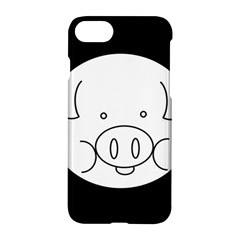 Pig Logo Apple Iphone 7 Hardshell Case