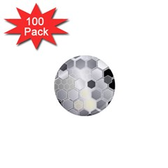 Honeycomb Pattern 1  Mini Magnets (100 Pack)