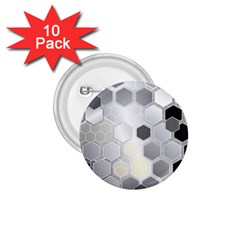 Honeycomb Pattern 1 75  Buttons (10 Pack)