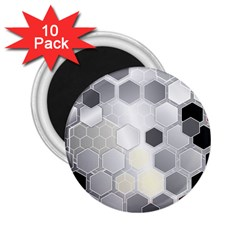 Honeycomb Pattern 2 25  Magnets (10 Pack)