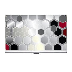 Honeycomb Pattern Business Card Holders