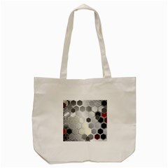 Honeycomb Pattern Tote Bag (cream)