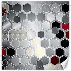 Honeycomb Pattern Canvas 20  X 20