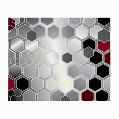 Honeycomb Pattern Small Glasses Cloth (2 Side)