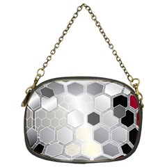 Honeycomb Pattern Chain Purses (one Side)