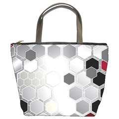 Honeycomb Pattern Bucket Bags