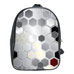 Honeycomb Pattern School Bags(large)