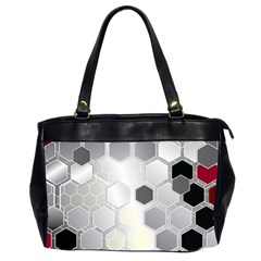 Honeycomb Pattern Office Handbags (2 Sides)