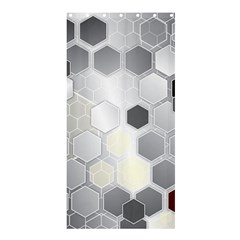 Honeycomb Pattern Shower Curtain 36  X 72  (stall)