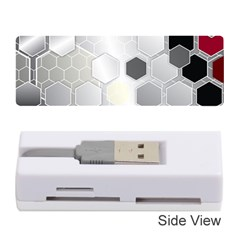 Honeycomb Pattern Memory Card Reader (stick)