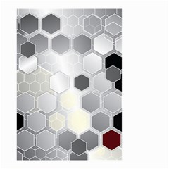 Honeycomb Pattern Small Garden Flag (two Sides)