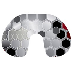 Honeycomb Pattern Travel Neck Pillows