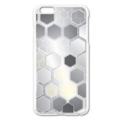 Honeycomb Pattern Apple Iphone 6 Plus/6s Plus Enamel White Case
