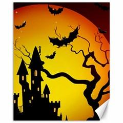 Halloween Night Terrors Canvas 11  X 14