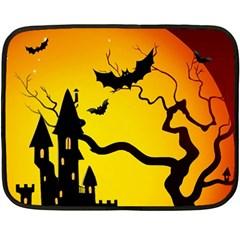 Halloween Night Terrors Double Sided Fleece Blanket (mini)