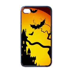 Halloween Night Terrors Apple Iphone 4 Case (black)