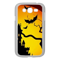 Halloween Night Terrors Samsung Galaxy Grand Duos I9082 Case (white)