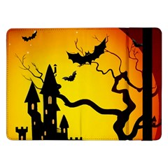 Halloween Night Terrors Samsung Galaxy Tab Pro 12 2  Flip Case
