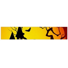 Halloween Night Terrors Flano Scarf (large)