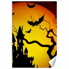 Halloween Night Terrors Canvas 24  X 36