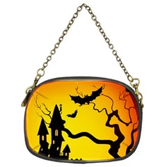 Halloween Night Terrors Chain Purses (two Sides)
