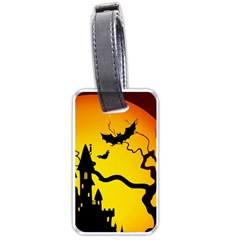 Halloween Night Terrors Luggage Tags (one Side)