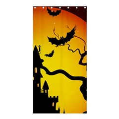 Halloween Night Terrors Shower Curtain 36  X 72  (stall)