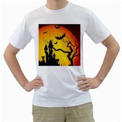 Halloween Night Terrors Men s T Shirt (white)