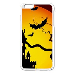Halloween Night Terrors Apple Iphone 6 Plus/6s Plus Enamel White Case