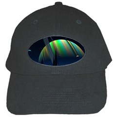 Planets In Space Stars Black Cap