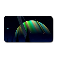 Planets In Space Stars Medium Bar Mats