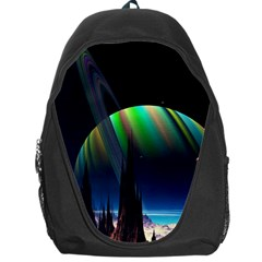 Planets In Space Stars Backpack Bag