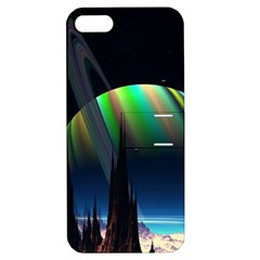 Planets In Space Stars Apple Iphone 5 Hardshell Case With Stand