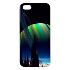 Planets In Space Stars Iphone 5s/ Se Premium Hardshell Case