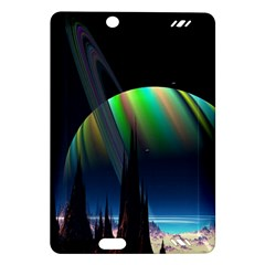 Planets In Space Stars Amazon Kindle Fire Hd (2013) Hardshell Case