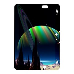 Planets In Space Stars Kindle Fire Hdx 8 9  Hardshell Case
