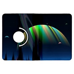 Planets In Space Stars Kindle Fire Hdx Flip 360 Case