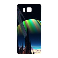 Planets In Space Stars Samsung Galaxy Alpha Hardshell Back Case