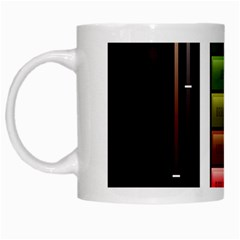 Black Energy Battery Life White Mugs
