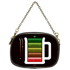 Black Energy Battery Life Chain Purses (one Side)