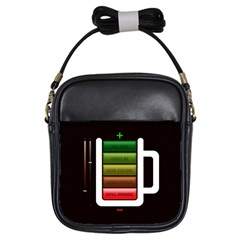 Black Energy Battery Life Girls Sling Bags