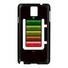 Black Energy Battery Life Samsung Galaxy Note 3 N9005 Case (black)